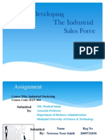 Developing the Industrial Sales Force_2