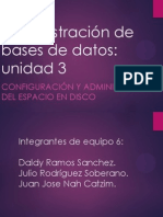 Administración de Bases de Datos Unidad 4