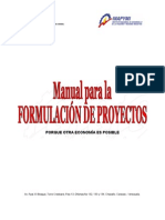 Manual de Proyectos INAPYMI