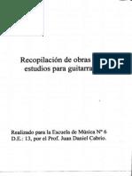 Curso Guitarra Prof Daniel Cabrio