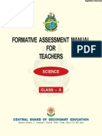 CBSE Class X Teachers Manual for Science