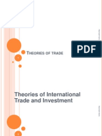 5 Theories of Trade