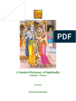 A Sanskrit Dictionary of Spirituality