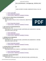 ISI Journal Master List 2013