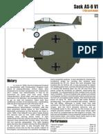 Kampfflieger Sack as-6 V1 1x48