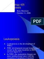 Hematology 425, Leukopoiesis