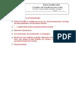 B - 1.1 - Ficha Formativa - Fósseis (2) - Soluções
