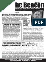 The Beacon Newsletter Spring 2014