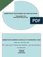Administrativne trgovinske prepreke