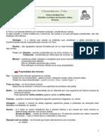 Ficha Resumo Rochas
