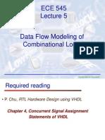 ECE545 Lecture5 Dataflow