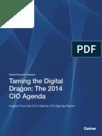 Cio Agenda Insights2014
