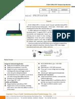f2264 Cdma Rtu Technical Specification