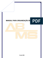 Manual Para Organizacao de Eventos VERSAO 2006