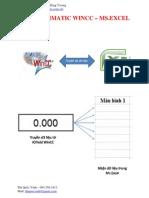 HD WinCC - Excel
