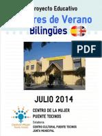 Talleres de Verano - Julio 2014 - Centro de La Mujer