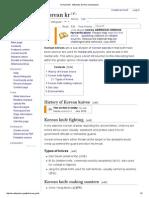 Korean Knife - Wikipedia, The Free Encyclopedia