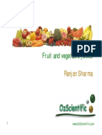 Fruit & Veg Juices Ranjan Sharma