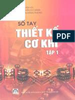 26. Sổ Tay Thiết Kế Cơ Khí Tập 1 - Hà Văn Vui & Nguyễn Chỉ Sáng, 734 Trang