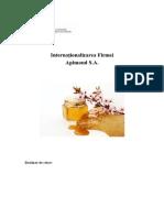 Internationalizarea Firmei Apimond SA