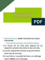 Intoduction a La Macroeconomie 2010