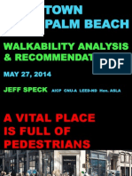 Jeff Speck walkability study results