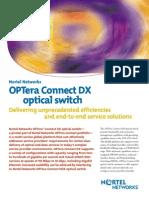 Nortel Optical Cross Connect DX detail