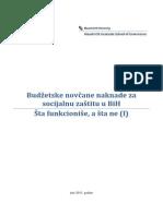 IBHI Budzetske Novcane Naknade u BiH