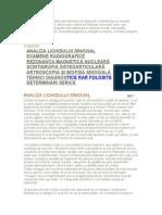 Metode de Diagnostic in Reumatologie