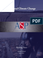 Texas and Climate Change