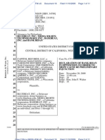 Risan Declaration Re Preliminary Injunction
