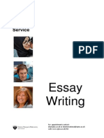 Planning and Writing Essays