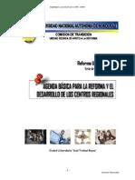 Documento Reforma Universitaria