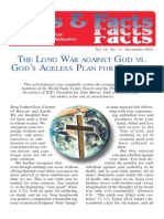 THE LONG WAR AGAINST GOD VS.