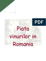 Analiza Pietei Vinurilor in Romania