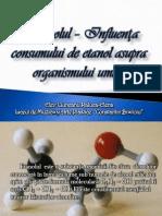 Etanolul – Influenţa Consumului de Etanol