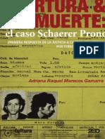 Adriana Raquel Marecos Gamarra - Tortura y Muerte, El Caso Schaerer Prono