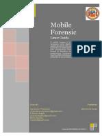 Mobile Forensic Tesina