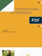 Sesión 9 - Investigación Nacional e Internacional