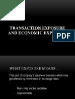 Transaction And Economic Exposure