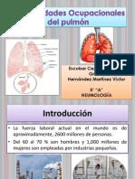 3) Enfermedades Ocupacionales en El Aparato Respiratorio