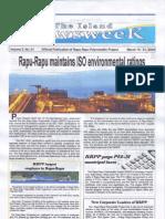 The Island Newsweek V2 N1 March16-31,2009
