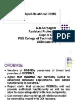 mod4-ORDBMS