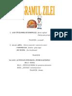 Proiecte Lecţie Mai 2014