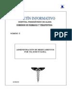 Analgesia Subcutanea