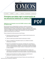 Conservacion de Estructuras de Madera
