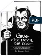 Give the Devil His Due by Sheldon Emry