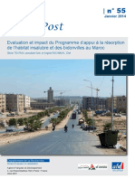 AFD Evaluation Habitat Et Bidonvilles Au Maroc