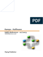SARS Reference - Hoffmann, 2003, Flying Publisher