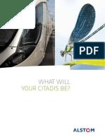 Brochure - Rolling Stock - Citadis Tramways - English